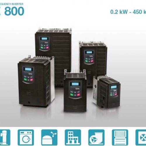 فروش اینورترهای سری E800 برند Eura -رادین صنعت