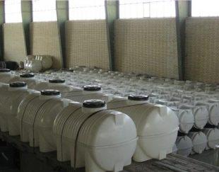 فروش مخزن آب , منبع و مخزن پلی اتیلن , تانکر پلاستیکی