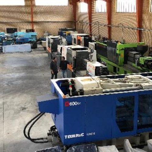 فروش دستگاه تزریق پلاستیک از 25 تن تا 800 تن