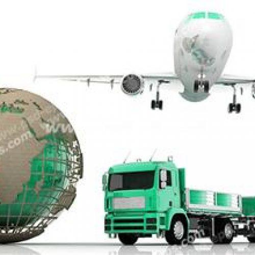 خدمات حمل کالای صادراتی به کلیه کشورها , حمل و نقل با کشتی , حمل بار هوایی زمینی و دریایی