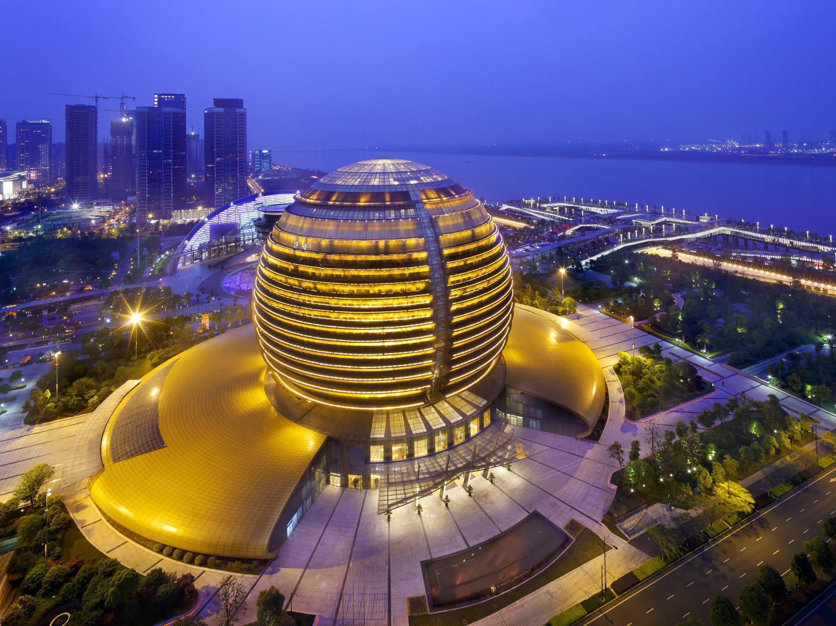 شهر هانگجو چین